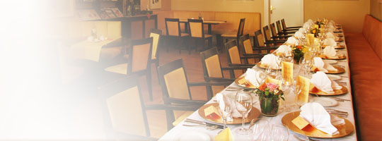 The Restaurant - enjoyment in good atmosphere